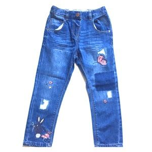 NWOT Next toddler girl blue jeans